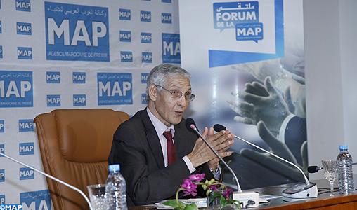 وزير التعليم العالي في ملتقى وكالة المغرب العربي للأنباء