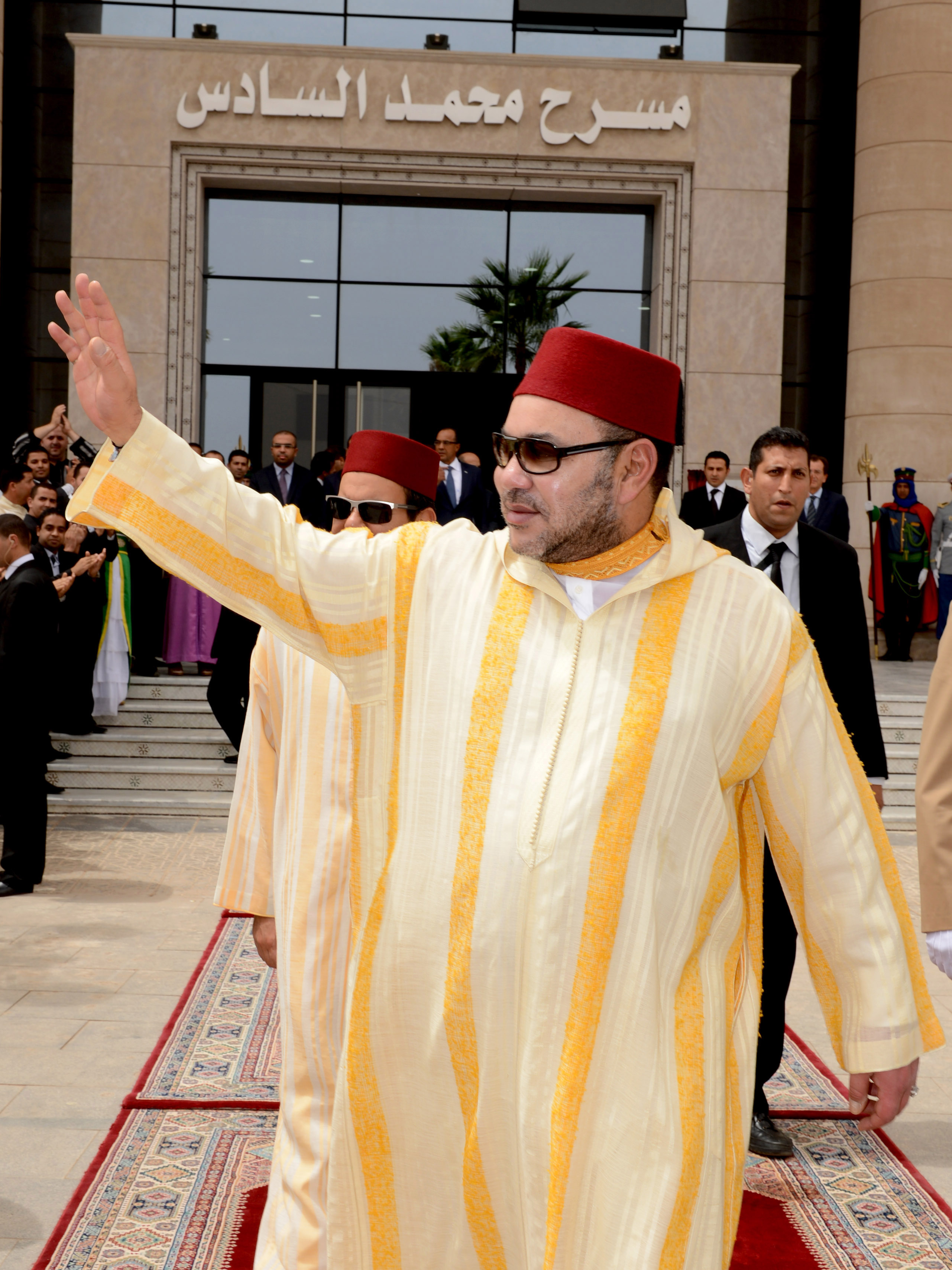 HM King Mohammed VI inaugurates Oujda 'Mohammed VI Theater'