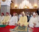 SM el Rey, Amir Al-Muminin, cumple la oración de Eid Al Adha en la mezquita Ahl Fez en Rabat y recibe las felicitaciones en esta feliz ocasión