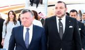 Lo Reyes de Jordania llegan a Casablanca para una visita de trabajo oficial a Marruecos