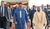 SM el Rey Mohammed VI llega a Abu Dabi para una visita de amistad y de trabajo a los Emiratos Árabes Unidos