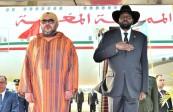 SM el Rey Mohammed VI llega a Yuba por una visita oficial al Sudán del Sur