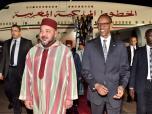 SM el Rey Mohammed VI llega a Kigali para una visita oficial en Ruanda, primera etapa de una gira Real que le llevará también a Tanzania y Etiopía