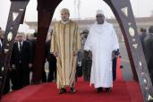 HM the King arrives in Bamako