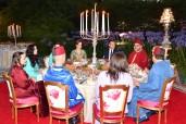 SM el Rey ofrece un iftar en honor del presidente francés y su esposa