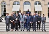 Eliseo-Francia: Encuentro entre SM el Rey Mohammed VI y el Presidente francés, François Hollande