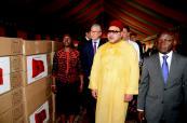 SM el Rey dona medicamentos y equipos médicos y tecnicos a Guinea Bisáu
