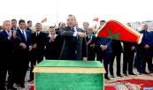 """Región Casablanca-Settat: Su Majestad el Rey Mohammed VI lanza, en la prefectura de distrito Moulay Rachid, proyectos de reestructuración y de integración urbana de los barrios """"Lahraouiyine Norte"""" y """"Sidi Ahmed Belahcen"""""""