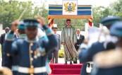 Ceremonia de bienvenida oficial a SM el Rey Mohammed VI en Acra