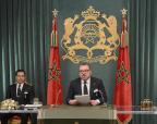 SM el Rey dirige un discurso a la Nacion con motivo del 40 aniversario de la Marcha Verde