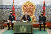 HM King Mohammed VI delivers a speech to the Nation on the occasion of the 45th anniversary of the G