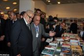 La cérémonie d'ouverture de la vingtième session du salon international de l'édition et du livre de Casablanca