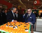 HM the King inaugurates in Meknes 8th Agriculture Fair- 24 april 2013