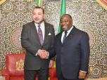 SM el Rey se reúne a solas con el Presidente gabonés