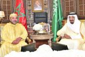 Entrevista entre SM el Rey y el Soberano saudí