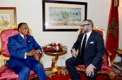 HM King Mohammed VI holds, in Addis Ababa, tête-à-tête talks with President of the Republic of Congo, Denis Sassou Nguesso