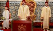 HM King Mohammed VI delivers a speech to the Nation on the occasion of the Throne Day