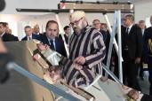 """SM el Rey Mohammed VI inaugura la plataforma internacional de investigación y formación en energía solar """"Green Energy Park"""""""