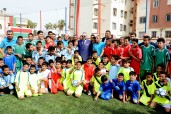 INDH: HM King Mohammed VI inaugurates Community-Based Sports Field in Casablanca