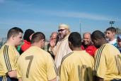 SM el Rey Mohammed VI inaugura en Marrakech dos proyectos socio-deportivos realizados en el marco de la INDH