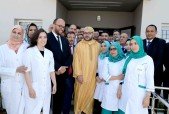 """SM el Rey inaugura en Nuacer el Centro de Hemodiálisis """"Amal Ouled Azzouz"""""""