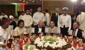 صاحبة السمو الملكي الأميرة للا حسناء تترأس مأدبة عشاء أقامها صاحب الجلالة الملك محمد السادس بمناسبة الحفل الأول لموسيقى البحر الأبيض المتوسط