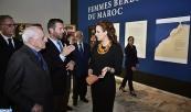 """صاحبة السمو الملكي الأميرة للا سلمى تترأس بالرباط حفل افتتاح معرض """"نساء أمازيغيات من المغرب"""""""