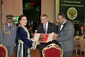 SAR la Princesse Lalla Hasnaa présie à Rabat le dîner de Gala diplomatique de bienfaisance annuel, organisé par l'ambassade de la fédération de Russie et la Fondation diplomatique