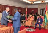 HM the King and Guinea-Bissau's president chair signing ceremony of 16 partnership agreements in different areas