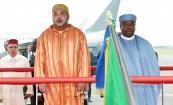 SM el Rey llega a Gabón