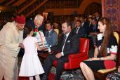 SM el Rey preside la ceremonia del fin del curso 2014-2015 en la Escuela Real en Rabat