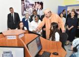 SM el Rey lanza en Casablanca centros de formación profesional