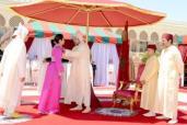 SM el Rey preside en Rabat una recepción con motivo de la Fiesta del Trono