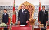 HM King Mohammed VI delivers a speech to the nation