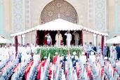 SM el Rey preside en Rabat la ceremonia de prestación de juramento de los oficiales graduados de las grandes escuelas militares y paramilitares