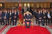 HM the King chairs in Tangiers certificate-awarding ceremony for vocational training graduates