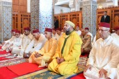 HM the King, Commander of the Faithful, Performs Friday Prayer at Lalla Asmae Mosque in Rabat