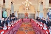 SM el Rey Mohammed VI preside en Rabat un Consejo de los Ministros