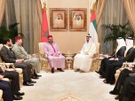 HM the King Meets With Crown Prince of Abu Dhabi HH Sheikh Mohammed Bin Zayed Al Nahyan