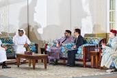 SM el Rey Mohammed VI se entrevista en Doha con el Emir de Qatar SA Cheikh Tamim Ben Hamad Al Thani