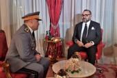صاحب الجلالة الملك محمد السادس يعين في منصب قائد الدرك الملكي الجنرال دوديفزيون محمد هرمو