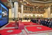 SM el Rey Mohammed VI preside, en el Palacio Real de Casablanca, la ceremonia de lanzamiento de 26 inversiones industriales en el sector del automóvil, de un monto global de 13.78 MMDH