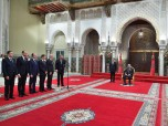 HM King Mohammed VI receives at the royal palace in Casablanca five new ministers whom the Sovereign appoints members of the government