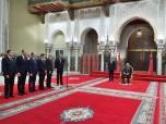 SM el Rey Mohammed VI recibe  en el Palacio Real en Casablanca a los cinco nuevos ministros que el Soberano nombró miembros del Gobierno
