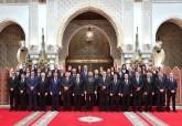 صورة تذكارية لصاحب الجلالة الملك محمد السادس مع أعضاء الحكومة