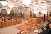 SM el Rey preside en el Palacio Real en Casablanca un Consejo de Ministros