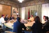 SM el Rey Mohammed VI preside en el Palacio Real de Casablanca una sesión de trabajo dedicada al examen del estado de avance de la puesta en marcha por Masen de los planes del desarrollo de las energías renovables del Reino