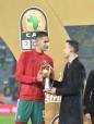 SAR le Prince Héritier Moulay El Hassan préside au Complexe Sportif Mohammed V de Casablanca la finale du 5è Championnat d'Afrique des Nations des joueurs locaux (CHAN-2018)