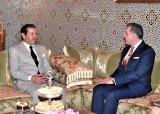 SAR le Prince Moulay Rachid reçoit en Sa résidence à Rabat SAR le Prince Radu de Roumanie qui effectue une visite de travail dans le Royaume