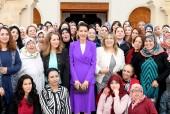 SAR la Princesse Lalla Meryem présidente de l'Union nationale des femmes du Maroc (UNFM) préside au Centre de Conférences Mohammed VI à Marrakech la cérémonie de célébration de la Journée Internationale de la Femme